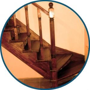 Лестница на косоурах - ООО МирЛестниц