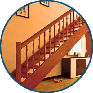 Маршевая лестница - ООО МирЛестниц