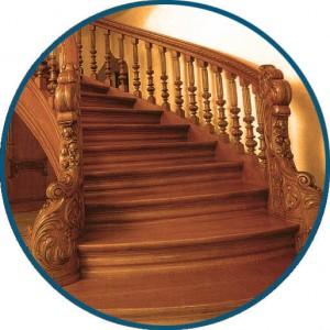 Монолитная лестница - ООО МирЛестниц