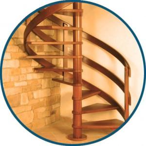 Винтовая лестница - ООО МирЛестниц